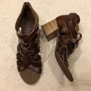 Blowfish size 10 gladiator sandal heels